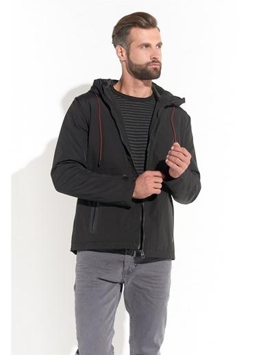 Z Giyim Su Ve Rüzgar Geçirmez Softshell Mont Siyah